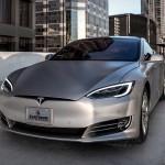 Platinum Motorsport Pantone Matte Silver Tesla S