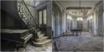 Fotografije klavirjev v evropskih vilah.