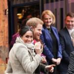 Princ Harry in Meghan Markle.