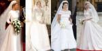 kraljeve poročne obleke