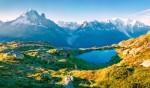 Tour du Mont Blanc, Francija, Italija, Švica