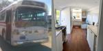 Dekle spremenilo 52 let star avtobus v mobilno hišo.