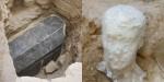 Arheologi našli ogromno črno grobnico v Egiptu, ki je obnorela splet.