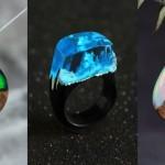 Magični kosi nakita slovenskega umetnika, katerih estetsko dovršenost in barvitost lahko začutite.