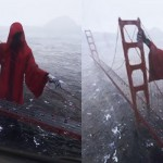 Instagram je obnorela srhljiva fotomontaža na mostu Golden Gate.
