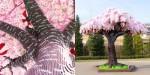 800.000 lego kock za češnjevo drevo, ki je vstopilo v Guinessovo knjigo rekordov.