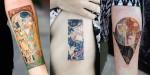 8 erotičnih tatujev, inspiriranih z umetninami Gustava Klimta.