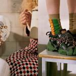 Gucci x SEGA: čevelj, ki združuje modno eleganco z igrivim svetom iger.