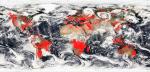 Apokaliptična satelitska slika NASE kaže svet v ognju.
