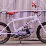 Lossa Engineering Honda CT90 BMX 'Redline': tako čudna kombinacija, da je že briljantna.