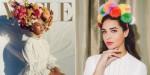 DIY: Pom-pom obroč za lase, inspiriran s cvetno krono Beyoncé iz revije Vogue, je modni dodatek, ki ga morate ustvariti.