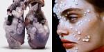 Oblikovalka ustvari edinstvene modne kose, ki so okrašeni s kristali iz človeške poti.