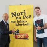 Tibor Šimonka in Luka Dončić