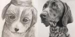 Umetniki ponovno narišejo obupne risbe, ki so jih ustvarili pred leti, in primerjava je neverjetna
