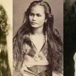 100 let stare fotografije najlepših žensk prejšnjega stoletja.