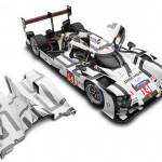 Porsche Le Mans 919 Hybrid model car