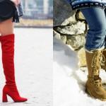 Jesen vs. zima: ko pričakuješ, da boš po zimi hodila v seksi petkah, a je resničnost drugačna.