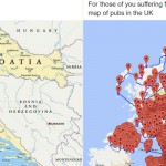 15 obupnih zemljevidov, ki vam jih učitelji v šoli niso pokazali