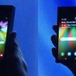 Zložljivi telefon Samsung