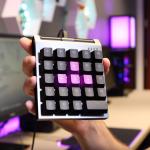 ControlPad: mini tipkovnica za igričarje, katere tipke so občutljive na silo pritiska.