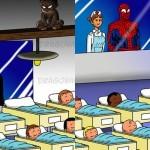 Superjunakom ne bi bilo lahko, če bi imeli otroke, in te ilustracije to dokazujejo