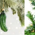 Zakaj američani obešajo kislo kumaro na božično drevo in zakaj bi jo morali tudi vi?