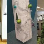 Ti ljudje so našli resnično bizarne alternative za 'božično drevo'.