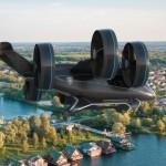 CES 2019: Leteči taksi Bell Nexus bo letel brez pilota.