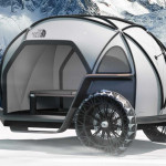 BMW North Face Futurelight Camper Concept