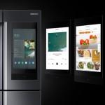 CES 2019: pametni hladilnik Samsung Family Hub bo zdaj sporočil aplikaciji, če pozabite zapreti vrat.