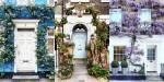 London ni tako temačen in to dokazujejo ti cvetlični vhodi na njegovih ulicah.