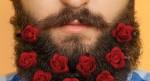 Pozabi na šopek za drago, zdaj lahko okrasiš brado z vrtnicami