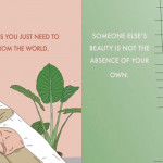 Navdihujoče ilustracije, ki te bodo naučile, kako se ljubiti