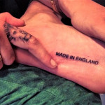 Cara-Delevingnes-Made-in-England-Tattoo