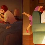 kako je videti ljubezen ko nihce ne gleda