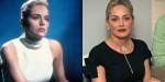 Sharon Stone v filmu Prvinski nagon (1992) in leta 2018, stara 60 let.