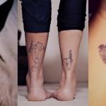 Prisrčne tetovaže za dva: zate in tvojo najljubšo osebo