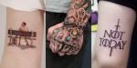 10+ tatujev iz naših najljubših filmov, ki jih hočeš TAKOJ