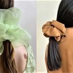 Ženske jih obožujejo: gromozanske gumice (scrunchie), ki jih želiš imeti