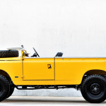 "Land Rover Series 2A LWB: retro terencu so ""odrezali streho"""