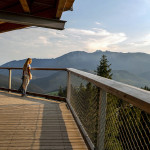 Sestrski projekt Chodník korunami stromov na Slovaškem