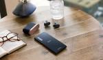 Sony Xperia 5 in Sony WF-1000XM3.