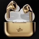 Zlate brezžične slušalke Caviar Apple AirPods Pro