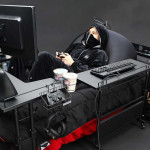 Gaming postelja Bauhutte
